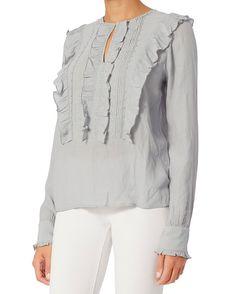 St. Roche Katy Ruffle Bib Shirt
