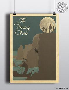 Princess Bride Minimal Poster by Posteritty #PrincessBride #InigoMontoya #DreadPirateRoberts #Posteritty #MinimalMoviePosters #Minimalism #ThePrincessBride #AsYouWish #Poster #MinimalPoster