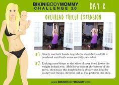 Bikini Body Mommy Challenge 2.0 - Week 2 Strength workouts. www.bikinibodymommy.com