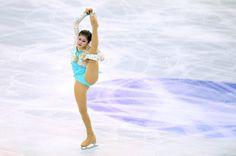Anna Pogorilaya Photos Photos: ISU Grand Prix of Figure Skating Final - Day Three Ladies Figure, Women Figure, Yulia Lipnitskaya, World Figure Skating Championships, In Boston, Ice Skating, Leotards, Grand Prix, Spin