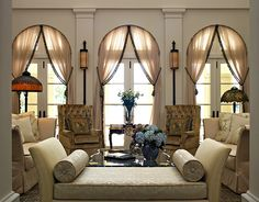 8 Best Palladian Images In 2011 Arched Window Treatments