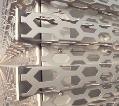 fachadas de chapa perforada