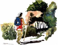 Patrick Jager - Camino Notebook Watercolors