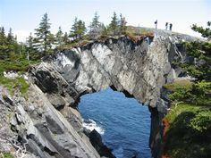Berry Head Arch on the Spurwink Island Path, East Coast Trail, north of Port KirwinJantje Vanhouwelingen