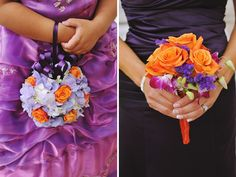 Elegant Purple and Orange Florida Wedding from Kismis Ink Photography with Cuban HeritageInfluences - Brenda's Wedding Blog - stylish real weddings - inspiration boards - unique accents for weddings
