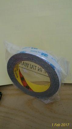 jual doble tape 3m -biasa utk digunakan utk menempel emblem,tutup bensin,over fender,talang air dll _harga satuan ,082210151782