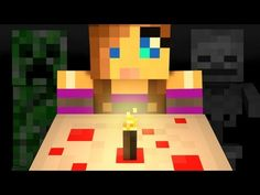 """Make a Cake"" - A Minecraft Parody of Katy Perrys' Wide Awake (Music Video) - YouTube"