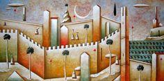 CRUCITA GUTIÉRREZ SEGOVIA: MIS AMIGOS PINTORES - CARLO MIRABASSO Painting, Girlfriends, Painting Art, Paintings, Painted Canvas, Drawings
