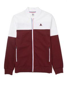 e97d40088376 Le Coq Sportif Tricolores Alibi FZ Sweatshirt