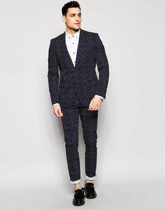 Antony Morato | Antony Morato Polka Dot Suit Jacket in Super Slim Fit at ASOS