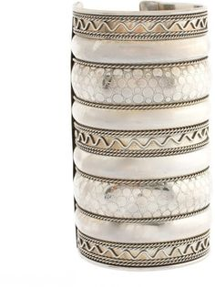 ShopStyle: ASOS Wide Patterned Textured Cuff