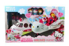 Amazon.com: Jada Toys Hello Kitty Jet Plane Play Set: Toys & Games