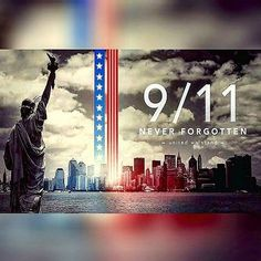 On this day, we honor those lost on that fateful day 14 years ago. #NeverForget #USA