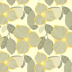 Amy Butler - Midwest Modern 1 and 2 - Optic Blossom in Linen