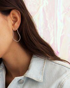 Horizon Earrings Sterling Silver