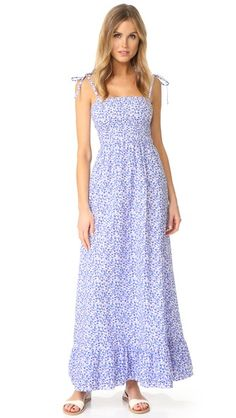 VETIVER Brigitte Maxi Dress
