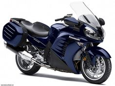 Kawasaki has release new GTR of 1400 ccm with Grand Tourer package. This sport touring motorcycles are available only in black color.         Specifications    Manufacturer Kawasaki   Model 1400GTR Grand Tourer   Category