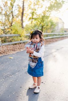 Toddler style: Blanket Scarf
