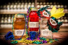 Mardi Gras and #Ole Smoky #Moonshine