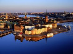 One of my favorite places on earth. Hope to have a vacation home in Stockholm, Sweden one day.
