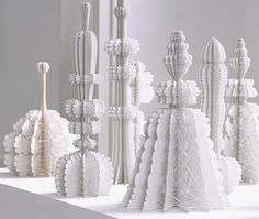 Courtesy of of UponAFold.com, paper art by Ferry Staverman. Saw these works at Museum of Art Design exhibit, Slash: Paper Under the Knife.