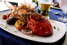 Lobster is considered by some as a gourmet food due to its high price. Above is lobster creole