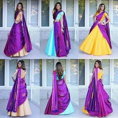There is a beautiful way to drape saree