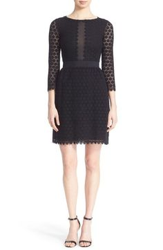 Diane von Furstenberg 'Nolly' Lace Sheath Dress available at #Nordstrom