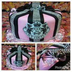 Juicy Couture Inspired Cake