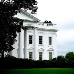White House from the backyard.  Washington D.C.     #Patriotic
