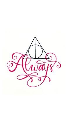 """Always"" Harry Potter iPhone wallpaper by Kelsey Yorks #harrypotter #always…"