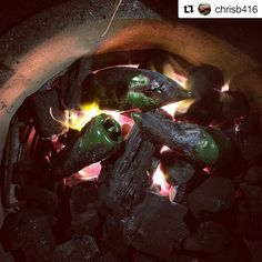 What a Kick Ash Idea right there! Thanks for sharing the passion for fire!  #Repost @chrisb416  Fire roasting pablanos in #fogocharcoal #smoker #grill #greenegg #grilling #grillporn #eggers #egghead #bge #bgeporn #bbq #outdoorlife #food #foodie #kamado #outdoorlife #GrillNation #Eggheads #Barbecue #Barbacoa #Instafood #ceramiccooker #ceramicgrill #nomnom #Instagrill #foodography #foodpics #food