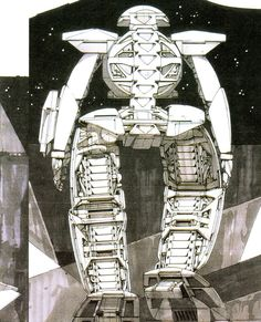 老いてなお盛ん!∀ガンダムのメカデザイナー、シド・ミードが描く未来 - Erumaerまとめ