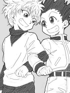 Gon Freecs and killua zoldyck Hunter x Hunter
