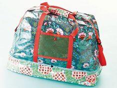 DIY-Anleitung: Sporttasche mit großem Innenfach nähen via DaWanda.com