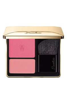 Guerlain 'Rose Aux Joues' Blush Duo available at #Nordstrom - 05 Golden High, 01 Peach Boy, 06 Red Hot
