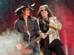 Rockin with Alice Cooper