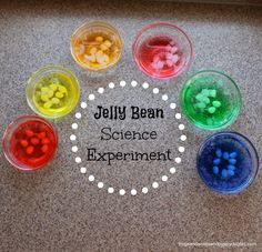 Jelly Bean Science Experiment by FSPDT ~perfect Easter themed science for kids