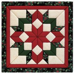 Christmas quilt block by month - covered wagons oregon trail Christmas Patchwork, Christmas Sewing, Christmas Star, Christmas Blocks, Christmas Quilting, Xmas, Star Quilts, Mini Quilts, Quilt Block Patterns