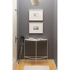 Entryway Idea:  with Slim Console Table - Modern Entryway Furniture - Room & Board