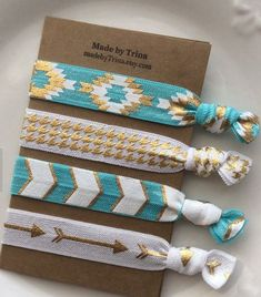 Cute hair bands for a gift!