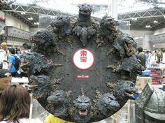 Faces of Godzilla