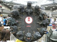 Well... I can name every movie these Godzilla's appeared in. #fanpride #maybe?