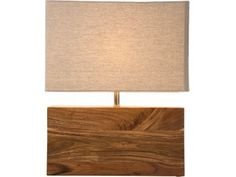 Lampa Stołowa Wood Nature — Lampy stołowe — KARE® Design
