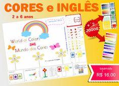 Apostila Ensinar Cores e Inglês no ENSINO Infantil Domiciliar