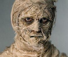 Halloween-makeup-ideas-mask-ideas scary mummy