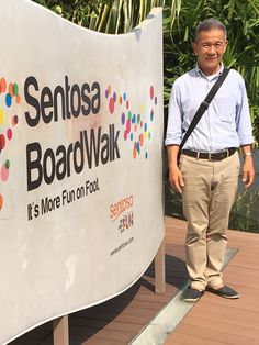 Sentosa boardwalk, sentosa Island