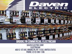 A Commercial Electrician is a professional that is trained to provide electrical services at all levels, whether industrial or residential. A Commercial Electrician must be knowledgeable about all aspects of electrical systems. If you are considering a Commercial Electrician, call Daven Electric today! Daven Electric Corp. Electrician 4601c 1st Ave, Brooklyn, NY 11232, United States Phone: 212-390-1106 Commercial Electrician, Professional Electrician, Business Names, Brooklyn, Knowledge, Industrial, United States, Nyc, Train