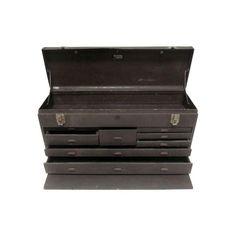 vintage KENNEDY machinist tool box Cabinet Tool Box Cabinet, Machinist Tool Box, Vintage Tools, Sell On Etsy, Workshop, Boxes, Storage, Work Shop Garage, Purse Storage