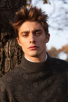 Maxence Danet-Fauvel for Caleo Magazine by Dennis Weber